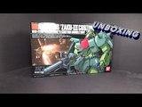Unboxing: 1/144 HGUC Zaku III Custom