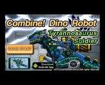 Juego jugar robot de Mostrar soldado televisión tiranosaurio Episodio 1 dino transfiguración estrella