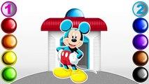 Et les meilleures coloration les couleurs amis maison Apprendre apprentissage souris nombres voir Pages du mickey club