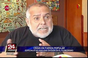 Analistas se pronuncian sobre situación en Fuerza Popular