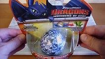 Defensores de los Dragón Dragones huevo eclosión de sorpresa juguetes Berk efervescencia 2 Cómo entrenar a tu dragón