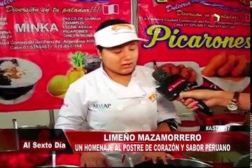 Limeño mazamorrero: homenaje al postre de corazón y sabor peruano