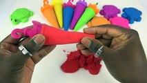 Bonbons les couleurs bricolage Comment cinétique Apprendre faire faire le sable à Il gumballs