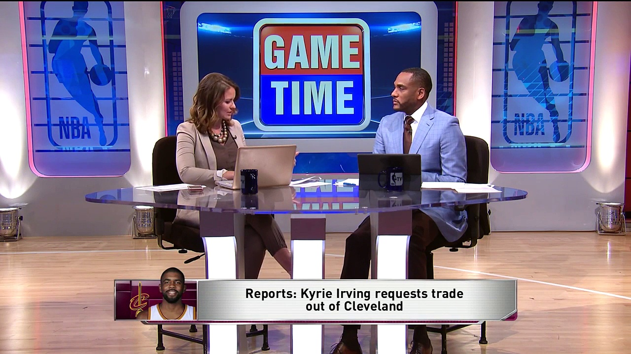 【NBA】Kyrie Irving Requests Cavaliers to Trade Him – GameTime Discussion  2017 NBA Free Agency