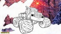 Les couleurs pour enfants Apprendre enfants pour et machines dessins animés Coloriage miracle FLASH enseigner les couleurs