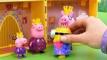 En de dibujos animados Peppa Pig palacio real de juguetes pro-Nesmeyanov parte princesa 2 SE