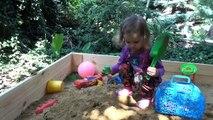 Animaux dans le sable visqueux le le le le la Dans le surprises sable Lizun animaux de barils déballer la surprise