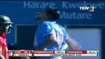 India vs Zimbabwe 2016 1st ODI Highlights fall of wickets