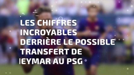 Les chiffres incroyables derrière le transfert de Neymar au PSG