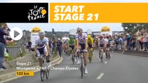 Départ / Start - Étape 21 / Stage 21 - Tour de France 2017