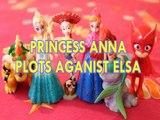 PRINCESS ANNA PLOTS AGANIST ELSA BOWSER JESSIE TOY STORY 3 ARIEL OWLETTE PJ MASKS Toys BABY Videos, FROZEN , DISNEY , PI