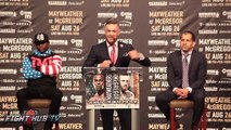 FLOYD MAYWEATHER VS CONOR MCGREGOR - Complete Los Angeles Press Conference - Boxing Fight Fighting MMA Mixed Martial Arts