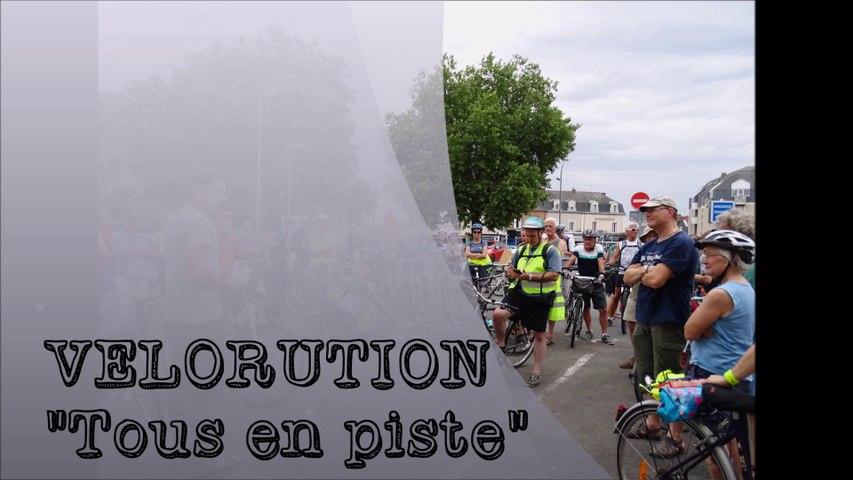 """TAVCA - Vélorution """"Tous en piste"""" 2017, Cholet"""