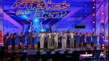 Danell Daymon & Greater Works- Choir Group Brings the House Down - America's Got Talent 2017