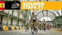 Resumen - Etapa 21 - Tour de France 2017