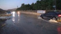 Mardin'e Verilen İçme Suyu Şebekesi Patladı