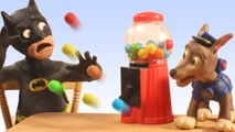 GUMBALL Madness Superheroes in Real Life Batman Paw Patrol Play Doh Stop Motion Movies