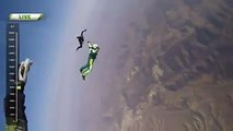 World record,Man jumps off the plane from 30000 ft. To Lands without a parachute