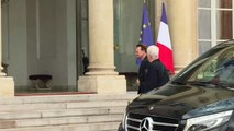 "U2 frontman Bono meets French President for ""ONE"" NGO"