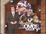 Entertainment Tonight on WCW with Randy Savage, Roddy Piper, Bret Hart, Hollywood Hogan [April 1998]