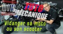 Tuto mécanique - vidanger sa moto ou son scooter (Moto Magazine)