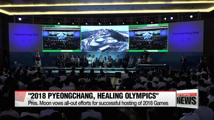 D-200 PyeongChang Winter Olympics, South Korean President Moon named Honorary Ambassador by Figure Skating Champion Kim