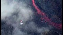 La Réunion : le piton de la Fournaise en éruption