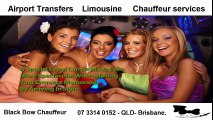 Airport Transfers, Limousine and Chauffeur services by Black Bow Chauffeur
