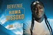 Hawa Cissoko, nouvelle recrue olympienne