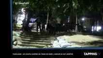 Thaïlande : Un couple fait l'amour en public et se fait arrêter ! (Vidéo)