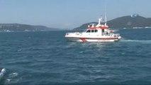 Sarıyer Tarabya'da Direksiyon Hakimiyetini Kaybeden Bir Sürücü Otomobiliyle Denize Uçtu.