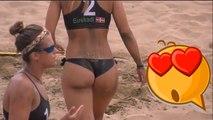 Miss Sport - Euskadi vs Catalunya beach volley 3rd place match