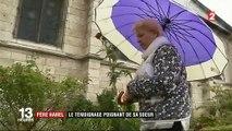 """""""Pas de colère, pas de haine"""": un an après l'attentat de Saint-Etienne-du-Rouvray, le témoignage poignant de la sœur du père Jacques Hamel"""