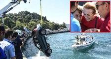 Sarıyer Sahilinde Otomobil Denize Uçtu: 1 Yaralı
