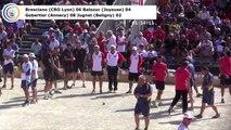 Premières parties, premier tour de poules M1, France Quadrettes, Sport Boules, Chambéry 2017