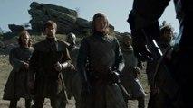 Games of Thrones (2011) : scène de flashback de Bran devant la Tour de la Joie, saison 6 (VO)