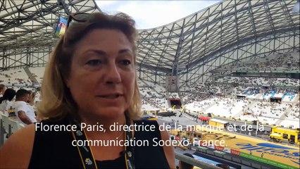 Florence Paris, directrice de la marque et de la communication de Sodexo France.