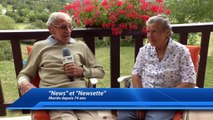 """Alpes-de-Haute-Provence : 74 ans de mariage à Seyne-les-Alpes pour """"News"""" et """"Newsette"""""""