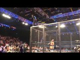 Jeff Hardy Slo-Mo Dive From the Top of the Cage From Final Resolution 2013