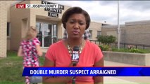 Double Homicide Suspect Charged in Shooting Death of Ex-Wife`s Husband