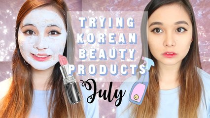 Favourite Korean Beauty Products   July