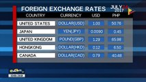 Tuesday's foreign exchange rates