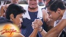 La Luna Sangre: Miyo and Tristan's arm wrestling duel | EP 26