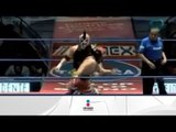 Dragon Lee, Sangre Azteca y Pegasso vs. Arkangel, Skandalo y Holligan 07.04.2012