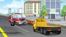 Camion de pompier EXTREME, Dépanneuse, voiture, beaucoup de véhicules | Compilation pour bébés