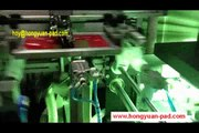 Full automatic plastic bottle screen printing machine with UV dryer