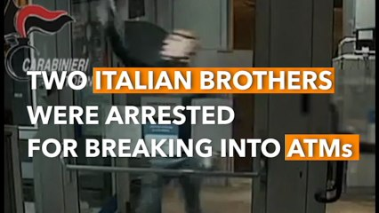 Two Italian Brothers In Trump Masks Rob ATMs