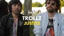 Justice : « C'est sûr que notre musique donne mal au crâne » – Trollz   JACK
