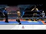 Ángel de Oro, Hijo del Fantasma y Diamante vs. Mr. Águila, Psicosis y Olímpico 21.04.12