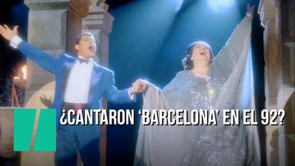 25 Anos Del Barcelona Que No Cantaron Montserrat Caballe Y Freddie